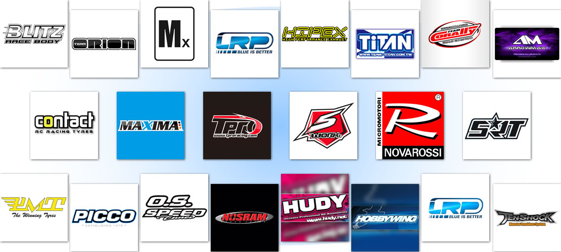 Marcas distribuidas por Shark Racing